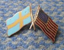 NOC SWEDEN OLYMPIC LOS ANGELES 1932 VERY RARE ENAMEL PIN BADGE
