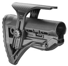 GL-Shock CP Fab Defense Black Color Shock Absorbing Buttstock With Cheek Rest