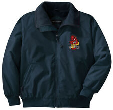 Fireman Firefighter Embroidered Jacket - Left Chest - Sizes XS thru XL