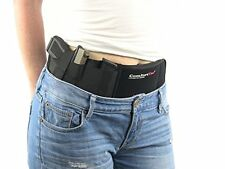 Ultimate Belly Band Holster for Concealed Carry | Black | Fits Gun Smith and ...
