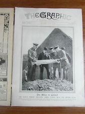 genre L ILLUSTRATION : WWI WAR GUERRE 14/18 : revue THE GRAPHIC 1916 Nr 2432