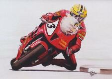 Joey Dunlop Honda SP1 Isle of Man TT Motorbike Motorcycle Racing Birthday Card