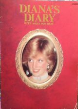 DIANA'S DIARY BOOKLET FROM 1981 HER FIRST YEAR AS PRINCESS RARE