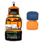 Travel Camping Toiletry Outdoor Wash Bag Makeup Kit Case Hanging Multicolor