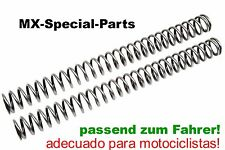 SUZUKI RM-Z 450 RMZ HORQUILLA MUELLES adecuado para motociclistas -seleccionable