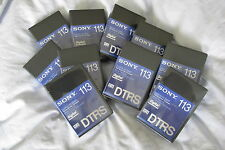 Sony DARS-113MP Tascam DTRS Professional Digital Audio Cassettes NEW Sealed DA88