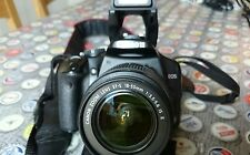 Canon EOS 450D 12.2MP Digital SLR Camera - Black (Kit w/ EF-S 18-55mm Lens)