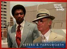 DAVID BOWIE - The Man Who Fell To Earth - Card #31 - Peters & Farnsworth