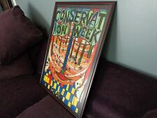 Hundertwasser CONSERVATION WEEK 1974 ORIGINAL POSTER (726) framed under glass