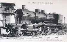 Les Locomotives Françaises (F. Fleury) - Machine Ten Wheel Etat n°230-374