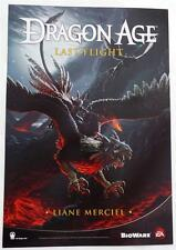 SDCC 2014 EXCLUSIVE  Dragon Age: Last Flight / The Masked Empire  2-Sided Poster