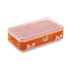 Double Side Waterproof Fishing Box Lure Hook Accessory Storage Case Holder