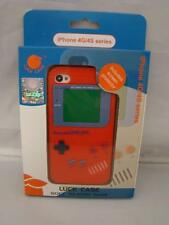 Iphone 4 Silicone Case & Screen Protector GameBoy Series 4G/4S NEW RED