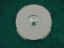 FORMULA BOAT FUEL GAS CAP COVER AND EMBLEM COMPLETE ASSEMBLY WITH SAFETY CABLE