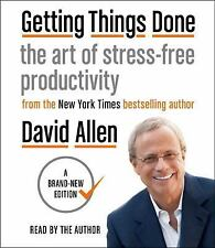 9 CD Getting Things Done : The Art of Stress-Free Productivity by David Allen