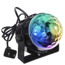 DJ light Sound Activated Party Lights Disco Ball - KINGSO Strobe Club lights Eff