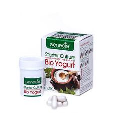 Levadura Genesis Starter culture  para la preparación casera del Bio yogur -caps