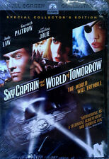 SKY CAPTAIN AND THE WORLD OF TOMORROW - GWYNETH PALTROW, A. JOLIE - SEALED DVD