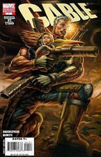 Cable #1  Rob Liefeld Variant Cover/Mike Caprioti/2008 Marvel Comics