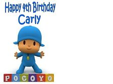 Pocoyo Birthday card Personalised A5