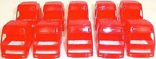 10 x CAMIÓN Cabina rojo Carga Arte Decoración 1:87 H0 å