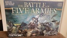BATTLE OF FIVE ARMIES WAR OF THE RING THE  HOBBIT WAR BOARD GAME