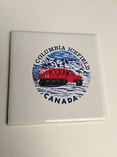 Vintage Trivet Ceramic Accent Wall Tile Columbia Icefield Canada 4 1/4 X 4 1/4
