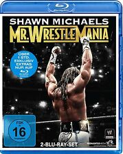 WWE Shawn Michaels Mr. Wrestlemania Orig 2 Blu Rays WWF Wrestling