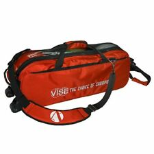 Vise Red 3 Ball Tote Bowling Bag