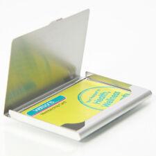 Metal Business Card Holder Pocket ID Credit Wallet Waterproof Case Box gift