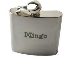 Personalized Engraved Custom 6oz Hip Flask Stainless Steel Wedding Usher Gift