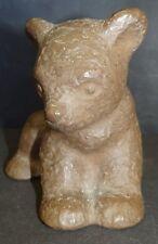 junger Bär, undeutlich gemarkt, Handarbeit, H-11,5 cm  (254/2002)