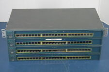 "Lot of 4 Cisco WS-C2950-24 24-Port 10/100 Network Switch ""Make an Offer"""