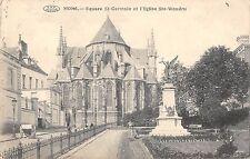 BR71553 mons square st germain et l eglise ste waudru belgium