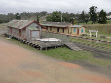 HO scale building NSWGR train station, Stores shed, signal she (KIT) 3 buildings