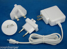 5V 2A AC Adapter Wall Charger WHITE for Samsung Galaxy Tab S2 9.7 8.0 S 10.5 8.4