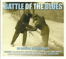 BATTLE OF THE BLUES - 60 ORIGINAL BLUES CLASSICS - 3 CD BOX SET BUDDY GUY & MORE