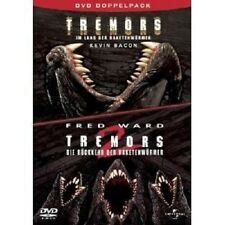 TREMORS 1 & 2 - 2 DVD NEU KEVIN BACON,FRED WARD,FINN CARTER