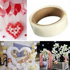 300Dots 5mm Clear Double Sided Sticky Glue Adhesive Tape For Craft Candle Making