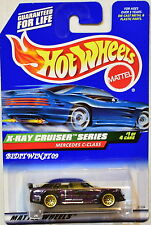 HOT WHEELS  1999  MERCEDES C-CLASS X-RAY CRUISER SERIES PURPLE