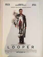 "LOOPER ""B"" 11.5x17 PROMO MOVIE POSTER"
