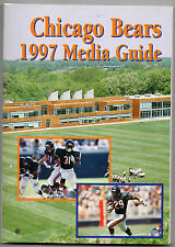1997 Chicago Bears Media Guide NM to NM-MT Have Several