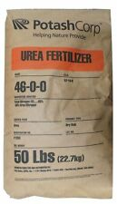 Pure Urea Nitrogen Fertilizer 46-0-0 Granular - 50 Lbs. ( Free Ship )