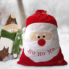 Large Embroidered Personalised Christmas Santa Sack Stocking Gift Bag 50 x 70 cm