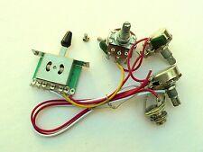 24mm 5 way Wiring Harness Kit for Fender Stratocaster guitar Humbucker SSH / HSH