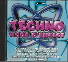 CD album: Compilation: Techno Mode D' Emploi. Club Dial. Z