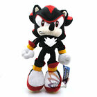 "9"" Sonic Shadow the Hedgehog New Plush Toy Doll-QT1866"