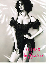 PUBLICITE ADVERTISING   2011   GUESS  haute couture