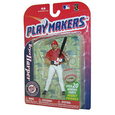 McFarlane Toys (4 Inch) - MLB Playmakers Series 4 - BRYCE HARPER (Nationals) New