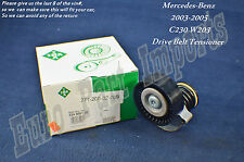 Mercedes-Benz W203 Drive Belt Tensioner + Pulley for C230 2003-2005 INA Germany